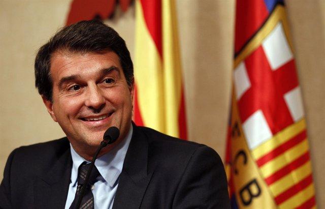 Joan Laporta, ex presidente del Barcelona