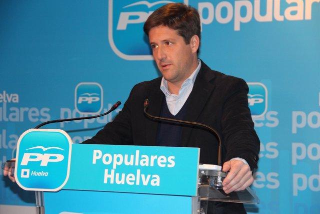 El secretario general del PP, Guillermo García Longoria.