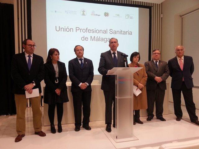 Nace la Unión Profesional Sanitaria de Málaga