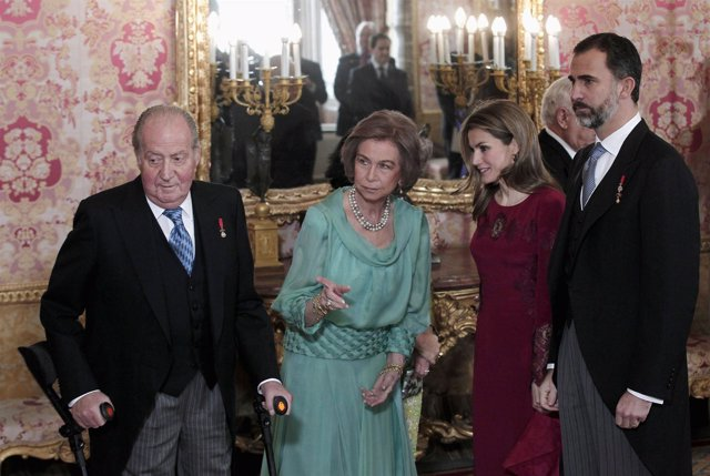 El Rey, la Reina, Don Felipe y Doña Letizia