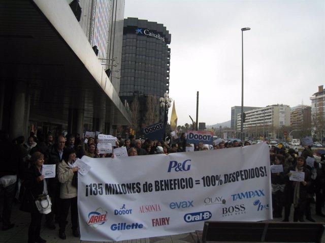 Protesta de empleados de Arbora&Ausonia