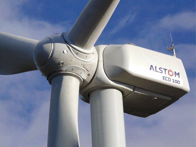 Aerogenerador de Alstom