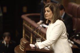 Economía/Debate.- El Congreso respalda la política laboral del Gobierno y rechaza las propuestas de la oposición
