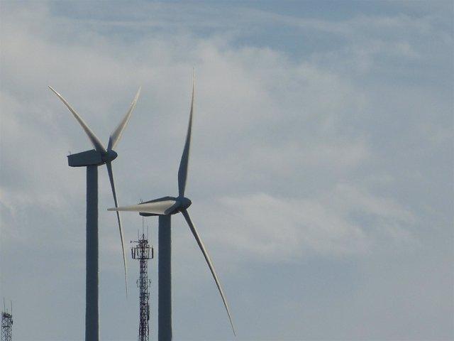 Aerogeneradores, molinos de viento, energía eólica