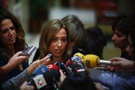 """Carme Chacón asegura que PSC y PSOE """"deben seguir caminando juntos"""""""