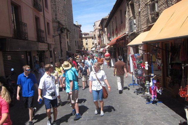 Turistas, Toledo, Turismo,