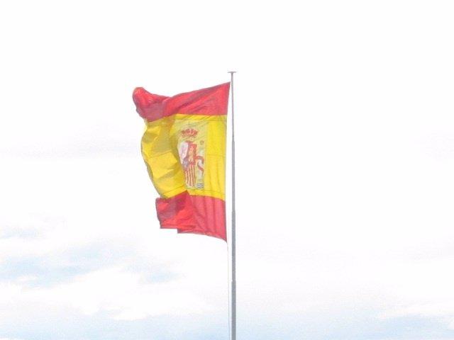 Bandera De España En Santander