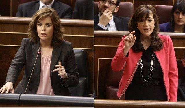 Soraya Sáenz De Santamaría Y Soraya Rodríguez