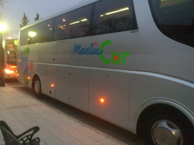 Autobuses, autobús