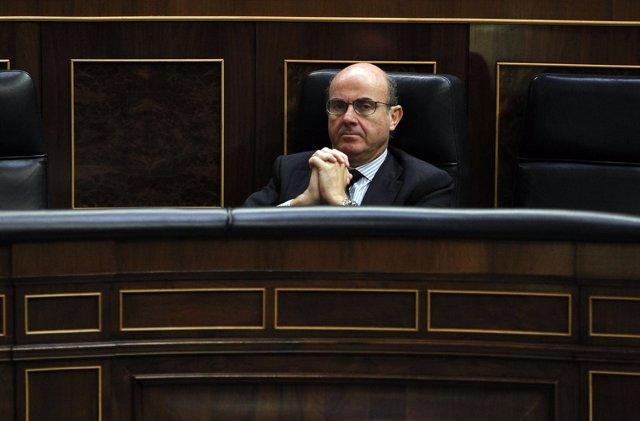 Luis de Guindos, En El Congreso