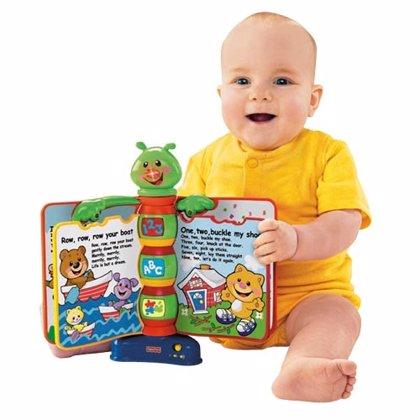 ¿Quieres ganar con Hacer Familia un libro interactivo de aprendizaje Fisher-Price para tu bebé?