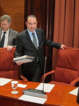 Fotografía de archivo del conseller de Interior de la Generalitat, R.Espadaler