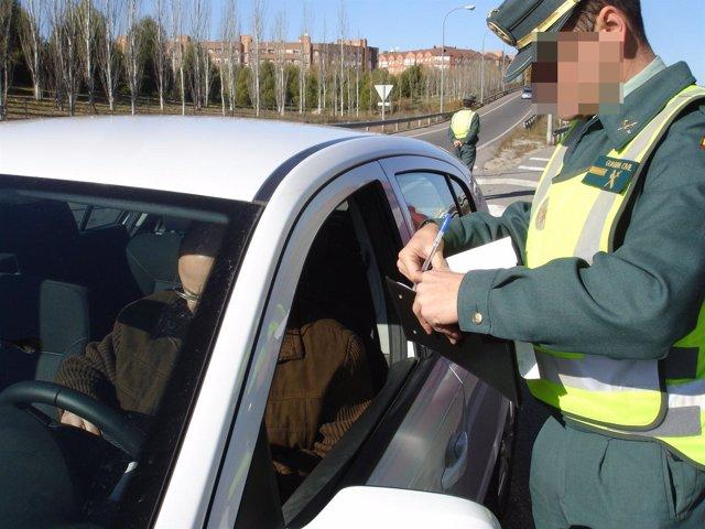 Conductor multado