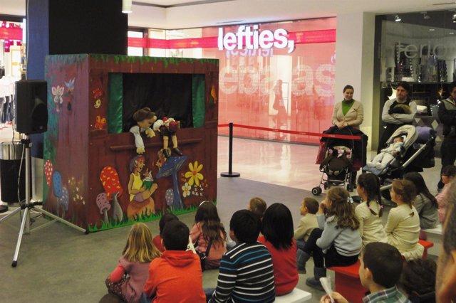 Teatro infantil en La Vaguada