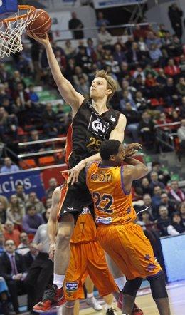 Henk Norel  CAI Zaragoza  Valencia Basket