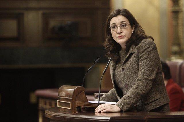 Soraya Rodríguez (PSOE) en el Congreso