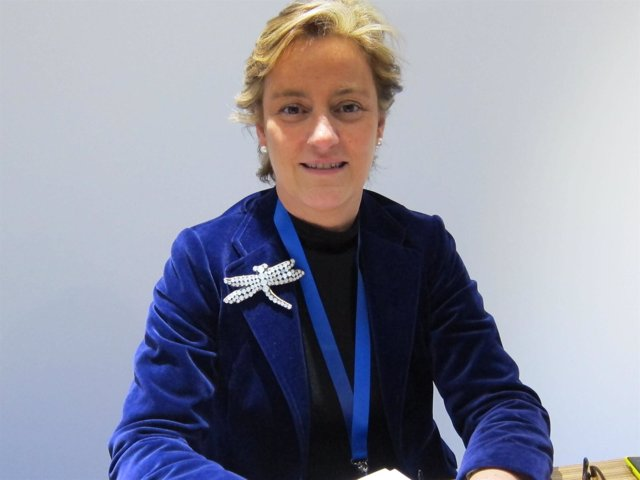 La directora general de Nokia Iberia, Reyes Justribó
