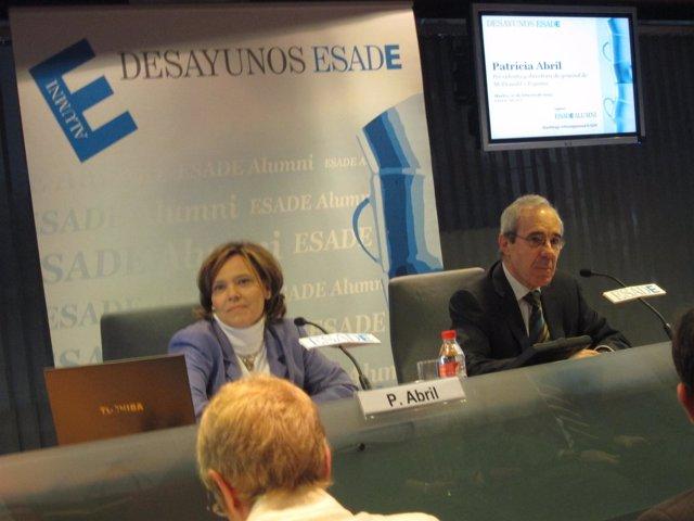 Patricia Abril, presidenta de McDonald's España