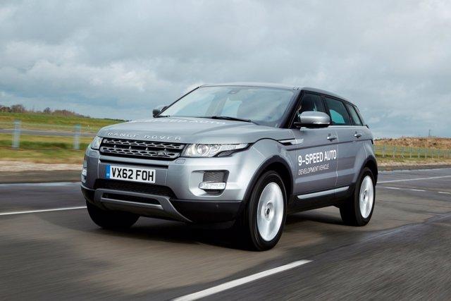Range Rover Evoque con caja de nueve velocidades