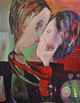 Una de las obras de Cristina Herrera
