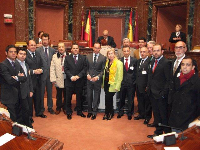 Diputados en la Asamblea Regional