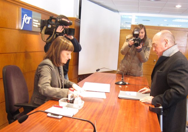 Aime García-Calzada ha presentado esta mañana su candidatura