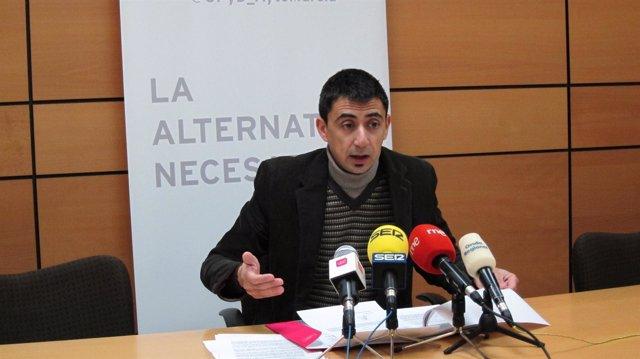 Rubén Serna de UPyD en el Ayuntamiento de Murcia