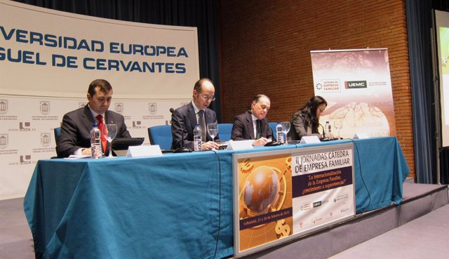Inauguración de las jornadas sobre internacionalización y empresa familiar