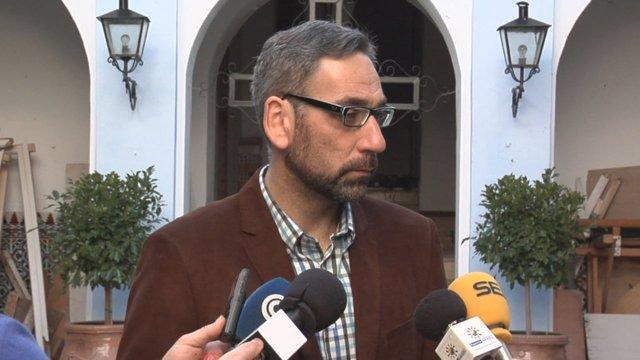 El alcalde de Ayamonte (Huelva), Antonio Rodríguez Castillo.