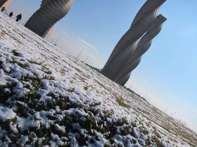 Temporal de frío y nieve en Catalunya