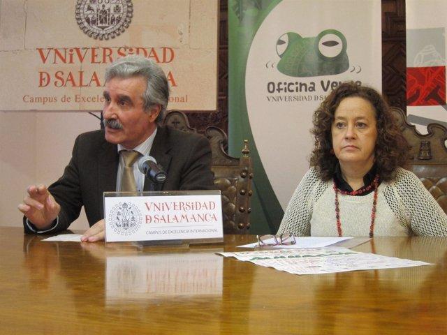 Pastora Vega y José Sánchez
