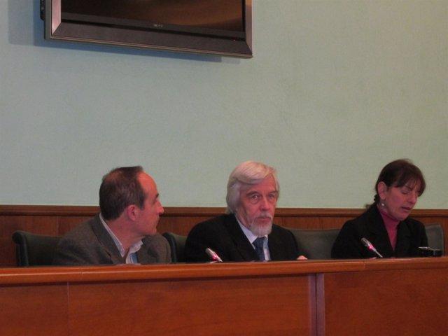 Rolf Heuer En Rueda De Prensa