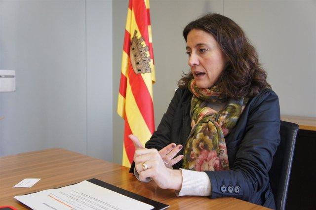 Mercè Conesa (CDC), alcaldesa de Sant Cugat del Vallès (Barcelona)