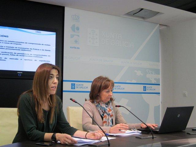 Vázquez Abeal y Muñoz Chesa durante una rueda de prensa