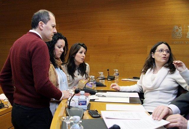 Comisión de Política Social en las Corts