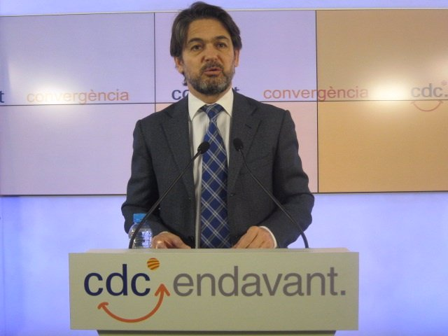Oriol Pujol, CDC (Archivo)