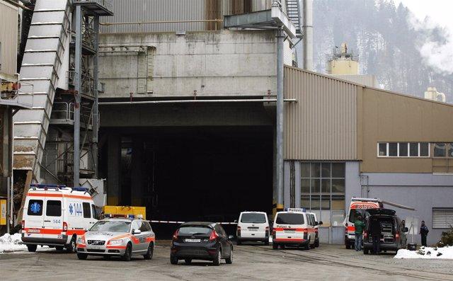 Un tiroteo que se ha producido en una fábrica de Suiza