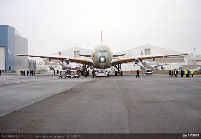 El Airbus A350 XWB