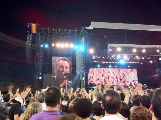 Concierto De Bruce Springsteen En Sevilla