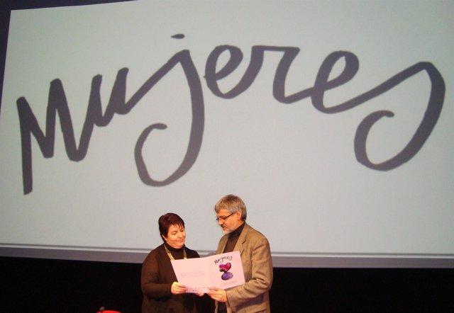 Luquero y Álvarez, durante la presentación