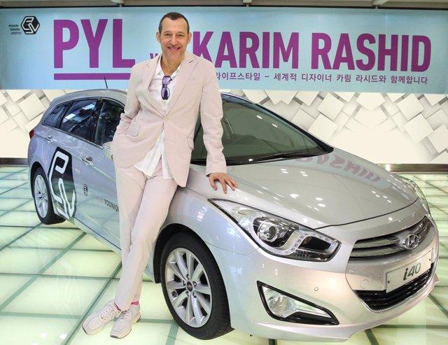 Hyundai colabora con Karim Rashid