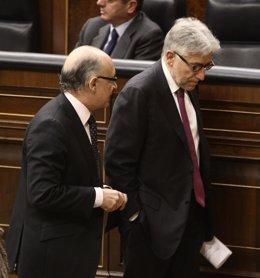 Cristóbal Montoro Y Josep Sánchez Llibre