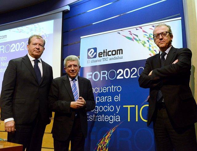 Adolfo Borrero, José Antonio Cobeña Y Guillermo Martínez.