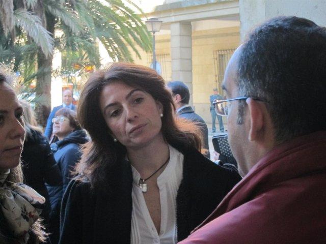 La juez Ana Rosa Curra