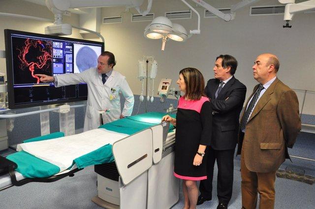 Nuevo quirófano biplano para Neurorradiología Intervencionista