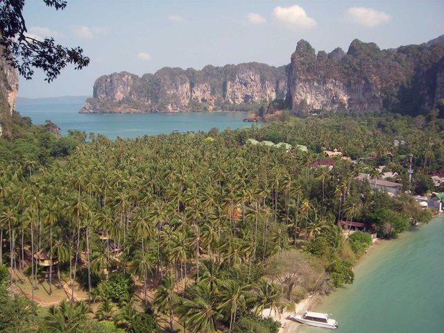 Espectacular Paisaje En Krabi