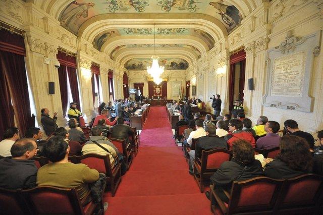 Pleno de febrero del Ayuntamiento de Málaga