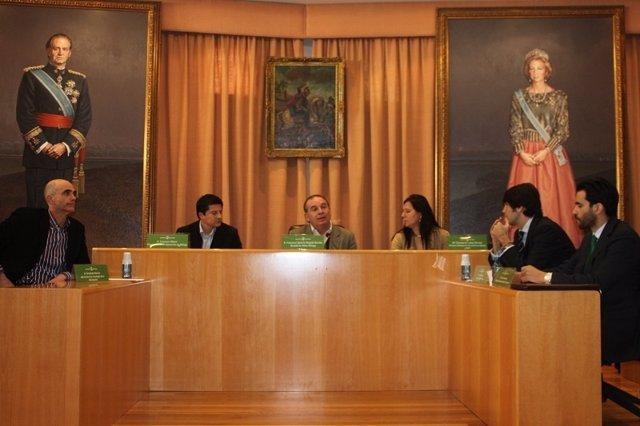 Presentación del proyecto 'Ágora' en Vélez Málaga
