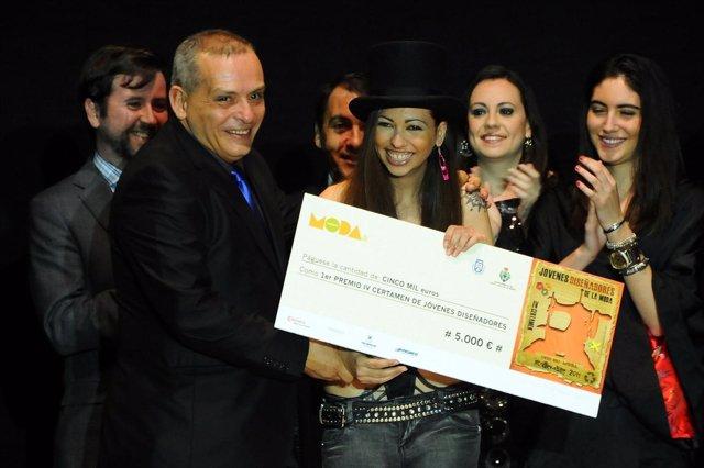 Ganadora del IV Concurso de Jóvenes Diseñadores