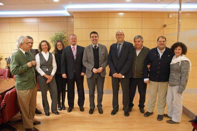La Mesa del Tercer Sector se reúne con María Jiménez